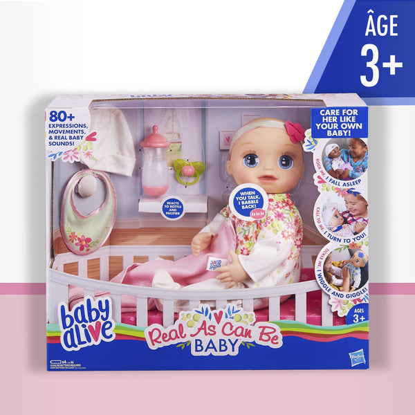 Baby Alive Real As Can Be Baby - Toyworld