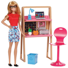 Barbie Doll Room Set Study Img 1 - Toyworld