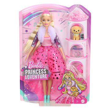 Barbie Princess Adventure Deluxe Doll - Toyworld