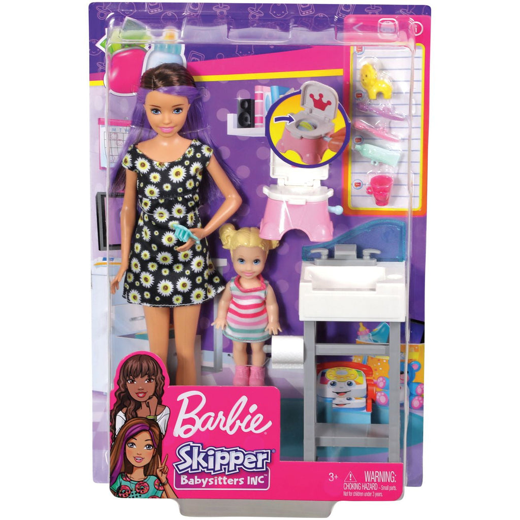 Barbie Skipper Babysitters Inc Doll Accessory Babysitter With Potty - Toyworld