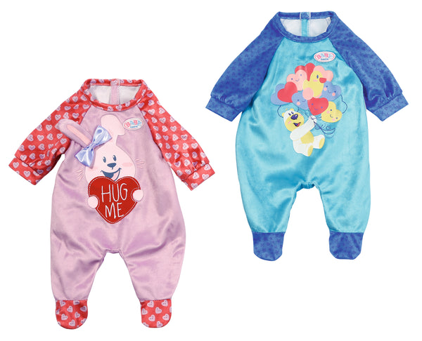 BABY BORN ROMPERS ASSORTED STYLES