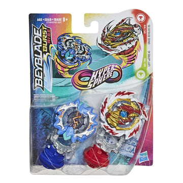 Beyblade Burst Rise Hypersphere Dual Pack Left Astro A5 Erase Devolos D5 - Toyworld