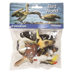 Bird World 9 Piece Figure Set Img 1 - Toyworld