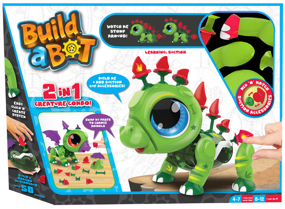 BUILD A BOT SUCTION DINO AND DRAGON