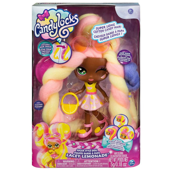 CANDYLOCKS DELUXE DOLL LACEY LEMONADE
