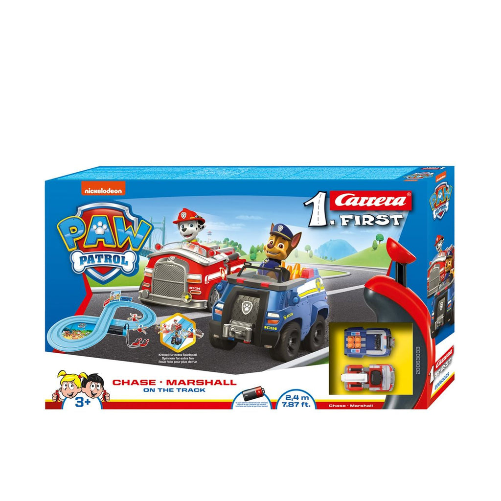 Carrera My First Paw Patrol On The Track Slot Car Set - Toyworld