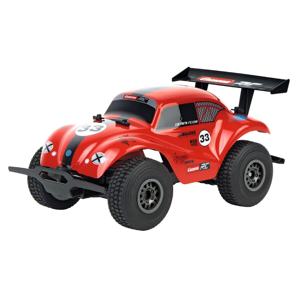 Carrera Remote Control 1:18 Vw Beetle Red Off Road 2.4 Ghz - Toyworld