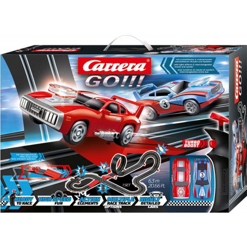 Carrera Go Supercharger Slot Car Set - Toyworld
