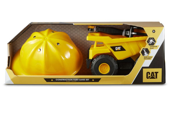 CAT CONSTRUCTION FLEET DUMP TRUCK SAND SET