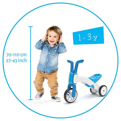 Chillafish Bunzi Bike 2.0 Blue Img 4 - Toyworld