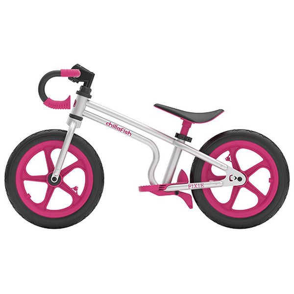 Chillafish Fixie Pink Bike - Toyworld