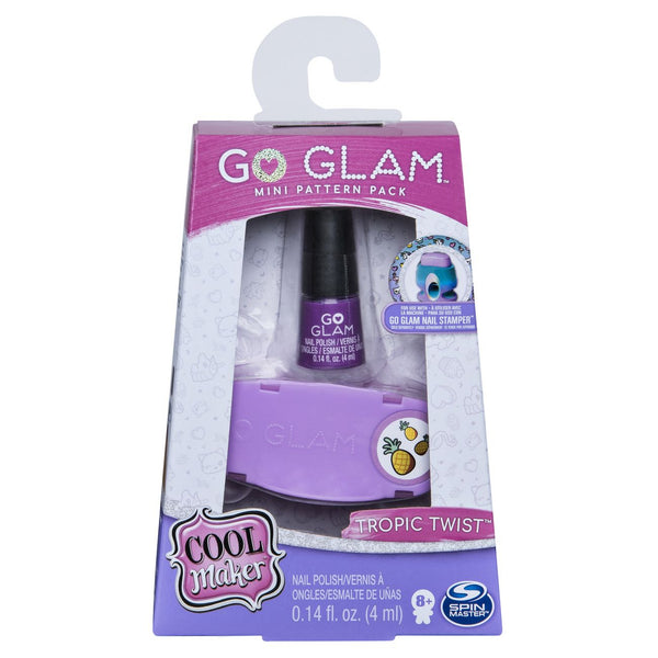 COOL MAKER GO GLAM MINI NAIL FASHION PACK ASSORTED STYLES