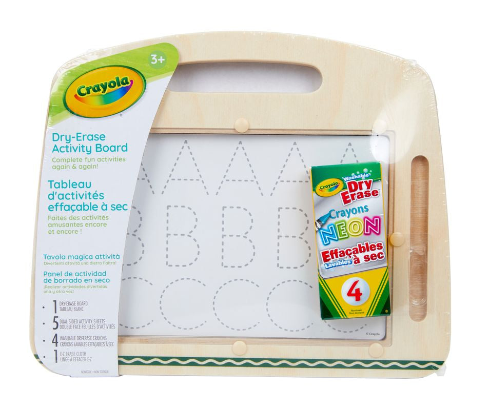 Crayola Dry Erase Activity Board - Toyworld