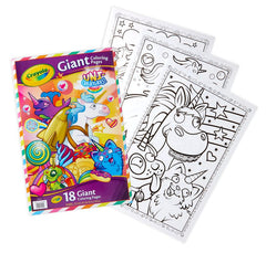 Crayola Giant Colouring Pages Uni Creatures Img 1 - Toyworld
