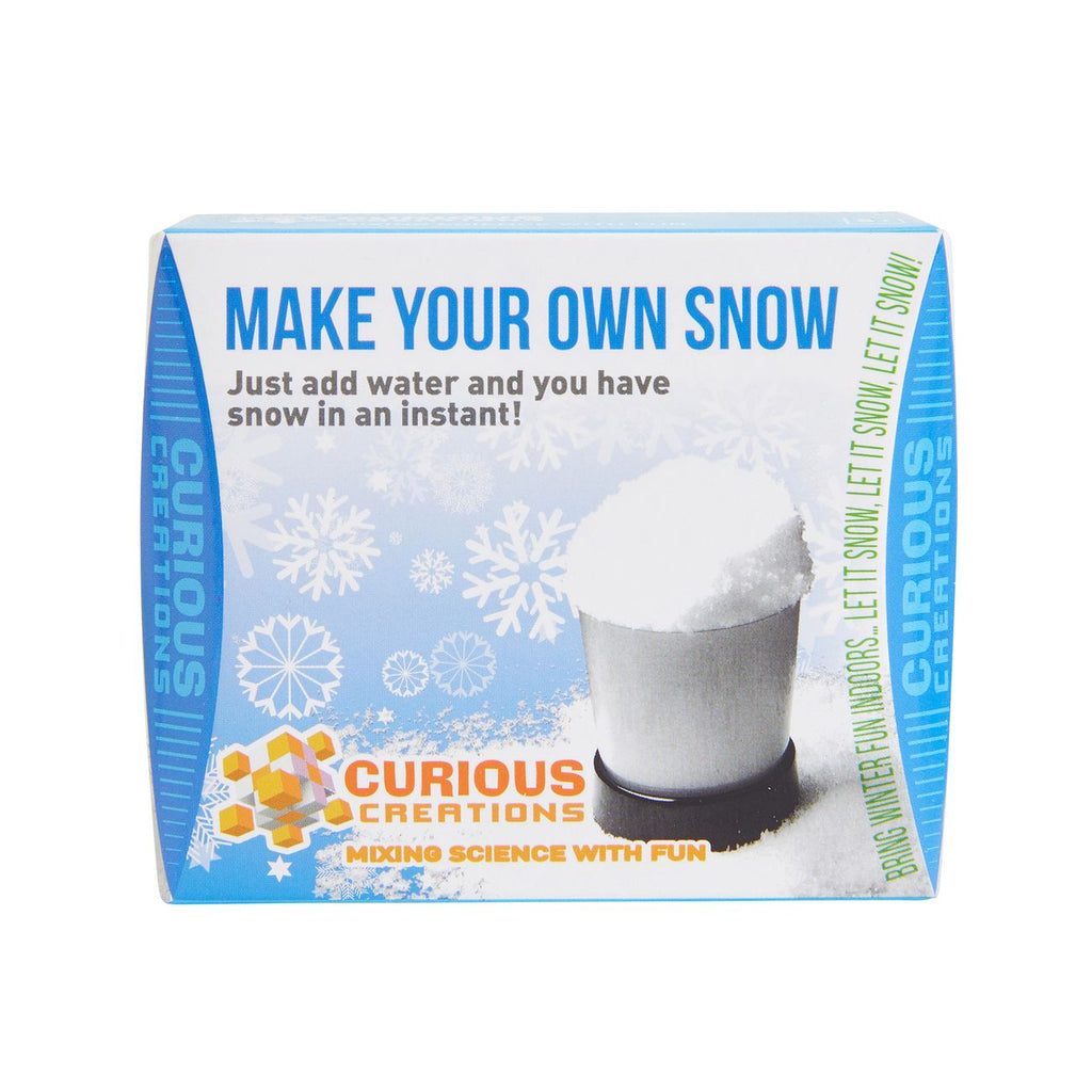 Curious Creations Make Your Own Snow - Toyworld