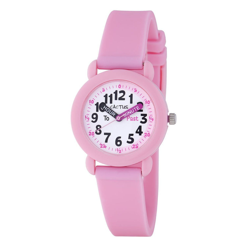 Cactus Time Teacher Watch Pink - Toyworld
