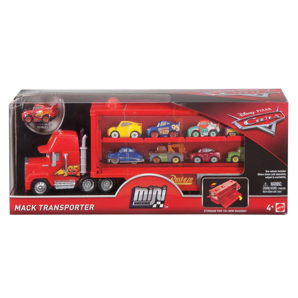 Cars Mini Racer Mack Transporter - Toyworld