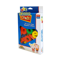 Classic Craft 32 Lower Case Letter Magnets - Toyworld