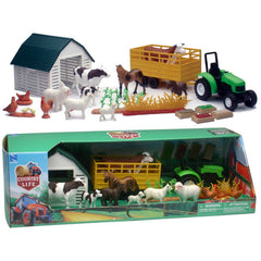 COUNTRY LIFE FARM ANIMALS DELUXE SET ASSORTED STYLES