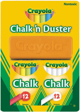 Crayola Chalk N Duster Pack - Toyworld