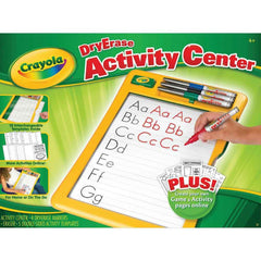 Crayola Dry Erase Activity Center - Toyworld