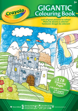 Crayola Gigantic Coloring Book 128 Pages - Toyworld