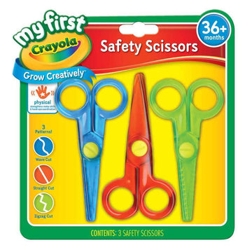 Crayola Scissors Safety 3 Pack - Toyworld