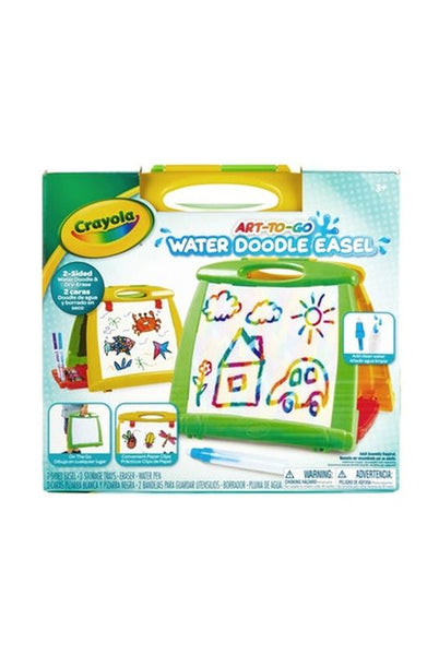 Crayola Art To Go Water Doodle Easel - Toyworld