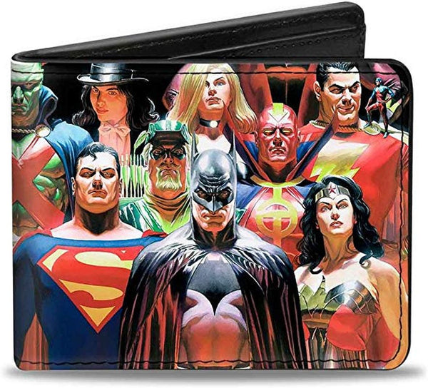 DC COMICS HEORES VS VILLAINS BI-FOLD WALLET