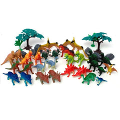 Dinosaur Bucket 40 Pieces Img 1 - Toyworld