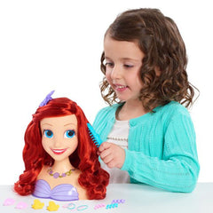 Disney Styling Head Asst Ariel Img 2 - Toyworld