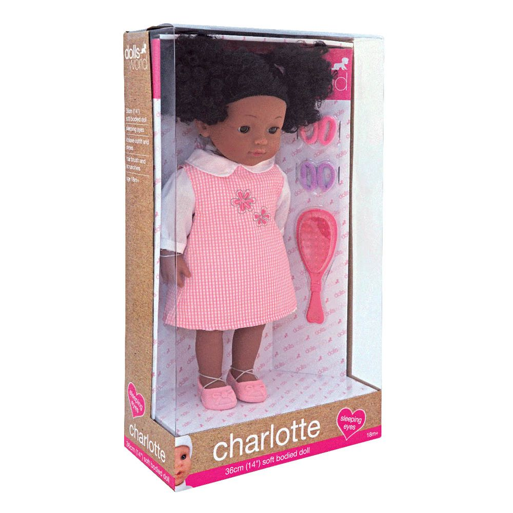 Dolls World Charlotte Black - Toyworld