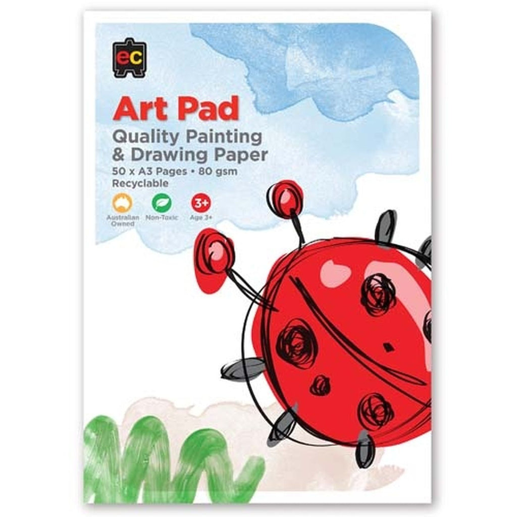Drawing & Painting Pad Small - Toyworld