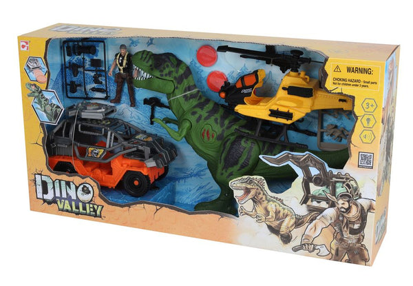 DINO VALLEY T-REX REVENGE PLAYSET
