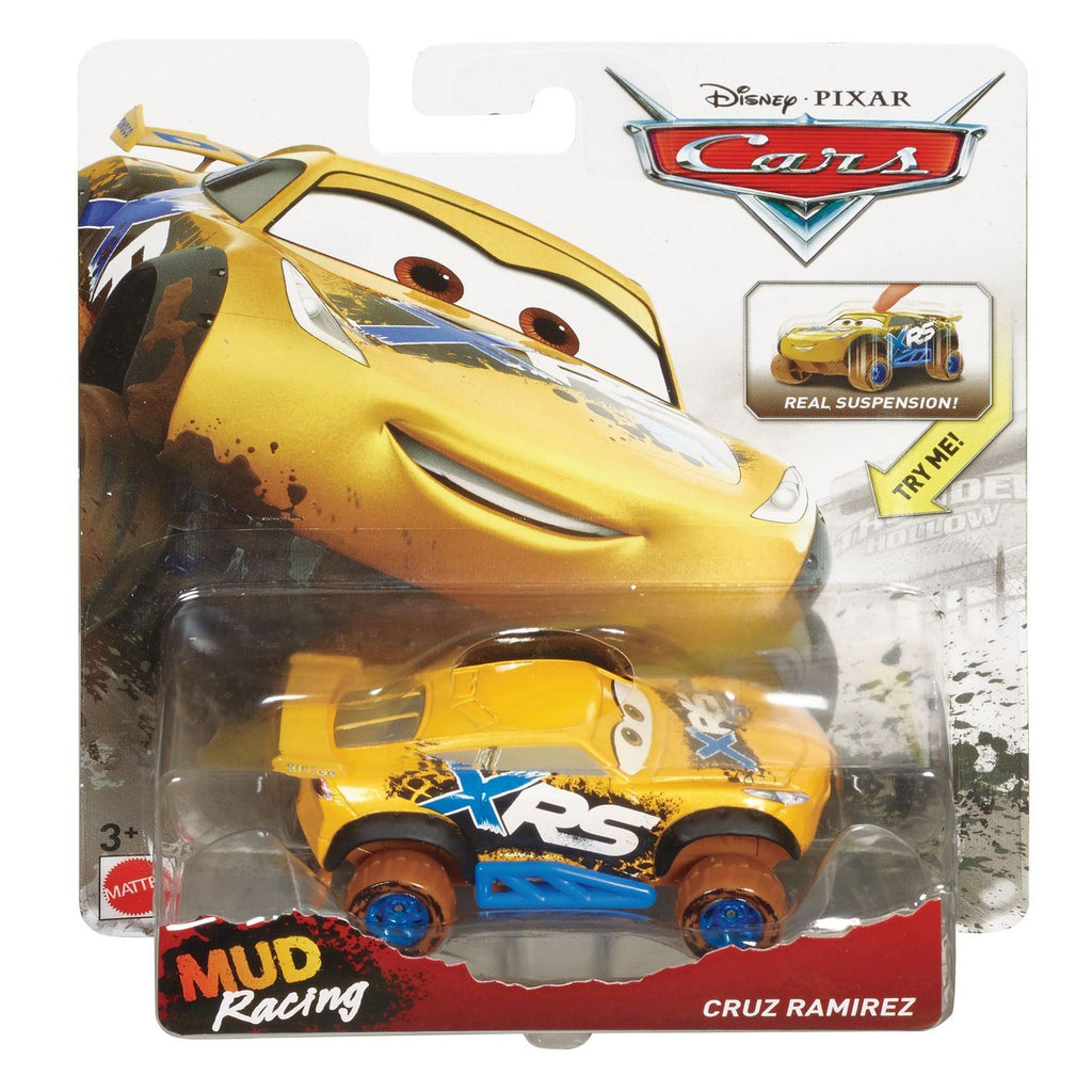 Disney Cars Mud Racing Vehicle Cruz Ramirez - Toyworld