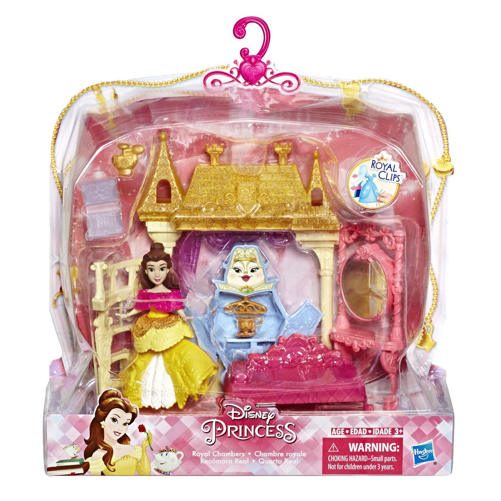 Disney Princess Small Doll Mini Environment Royal Chambers - Toyworld
