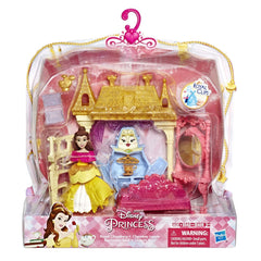 DISNEY PRINCESS SMALL DOLL MINI ENVIRONMENT ROYAL CHAMBERS