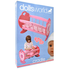 DOLLSWORLD - WOODEN CRADLE