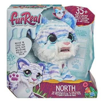 Fur Real North The Sabertooth Kitty - Toyworld