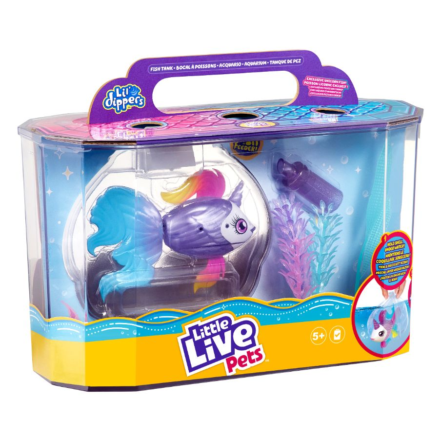 Little Live Pets Lil Dippers Fish Tank Playset Toyworld