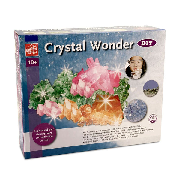 EDU-SCI DIY CRYSTAL WONDER