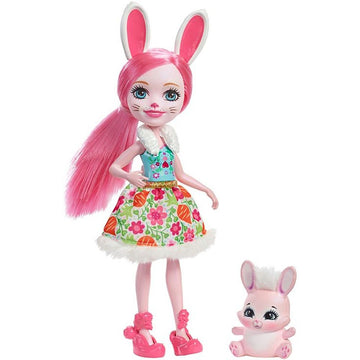Enchantimals Doll Pet Bree Bunny Twist - Toyworld