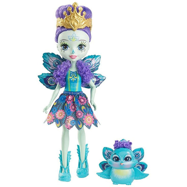 Enchantimals Doll Pet Patter Peacock Flap - Toyworld