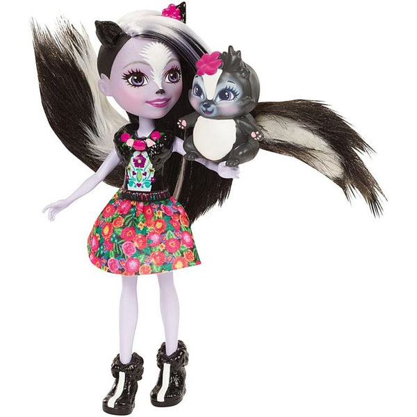 Enchantimals Doll Pet Sage Skunk Caper - Toyworld