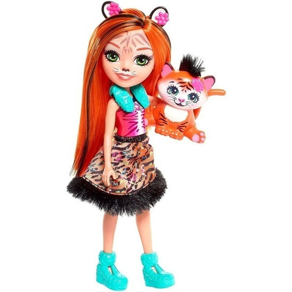 Enchantimals Doll Pet Tanzie Tiger Tuft - Toyworld