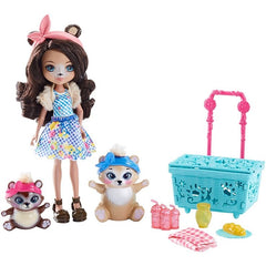 Enchantimals Doll Pet Theme Set Paws For A Picnic Img 1 - Toyworld