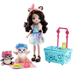 Enchantimals Doll Pet Theme Set Paws For A Picnic - Toyworld