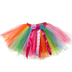 Fairy Girls Magical Fairy Skirt Rainbow Img 2 - Toyworld