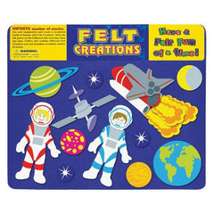 FELT CREATIONS OUTER SPACE