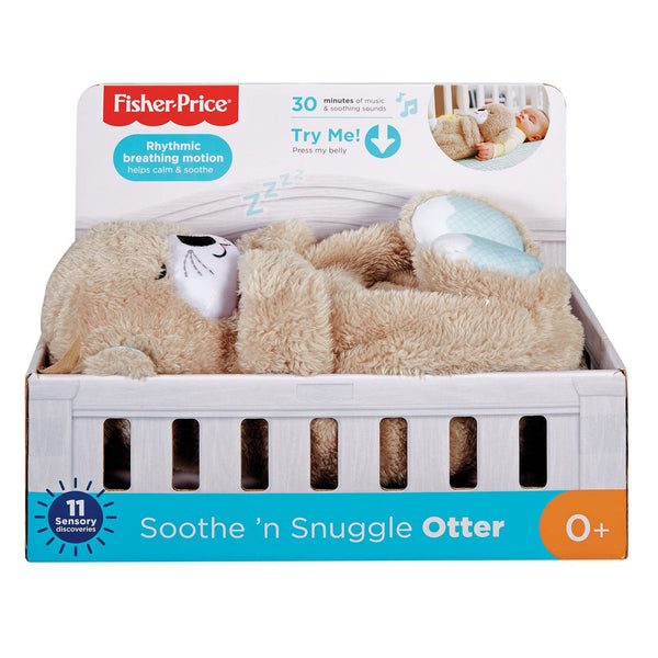 Fisher Price Soothe N Snuggle Otter - Toyworld